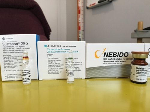 Testosterone Series 4- Let's talk about Nebido, Sustanon and