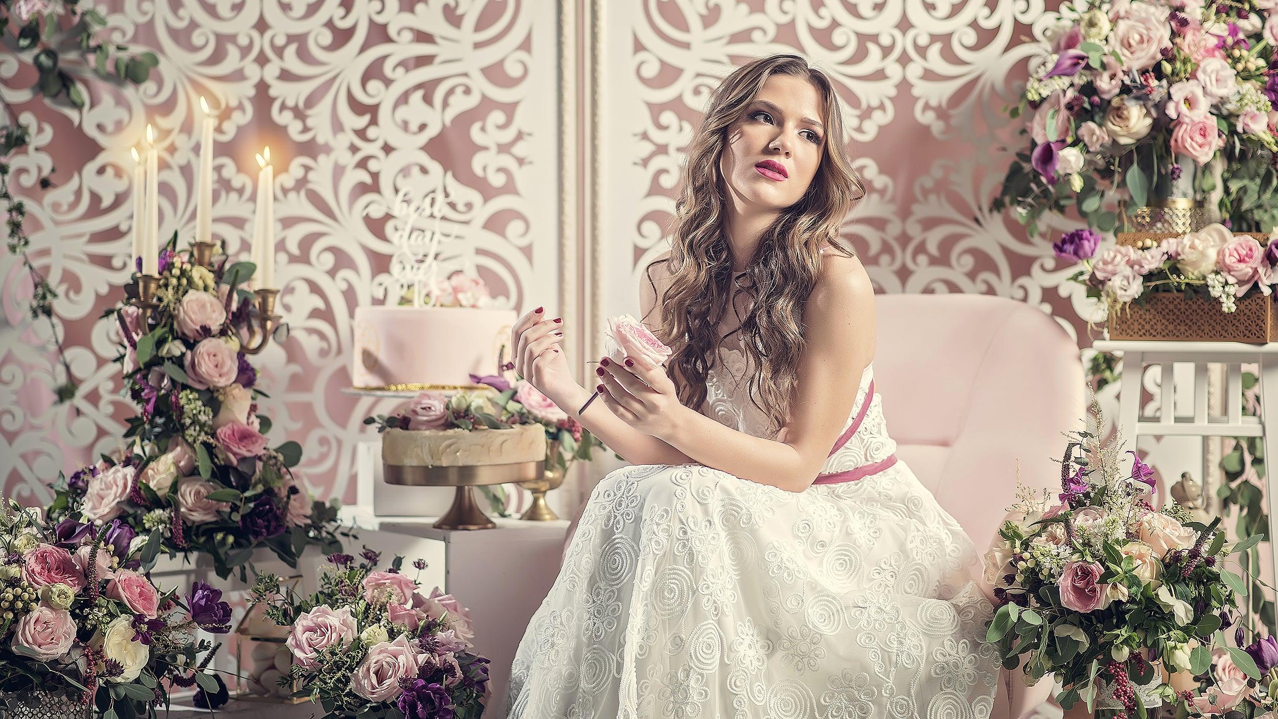 Boheme bride