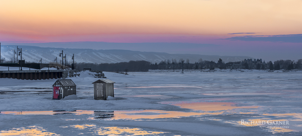 92 Ice Huts - Collingwood Harbour