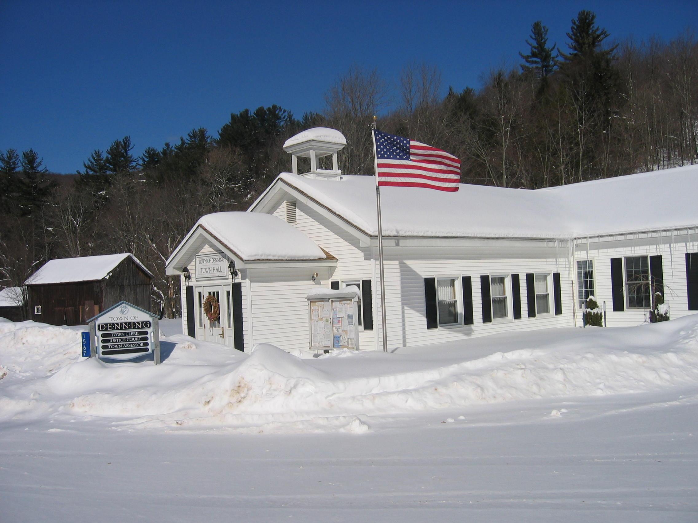 Denning Town Hall, Claryville.