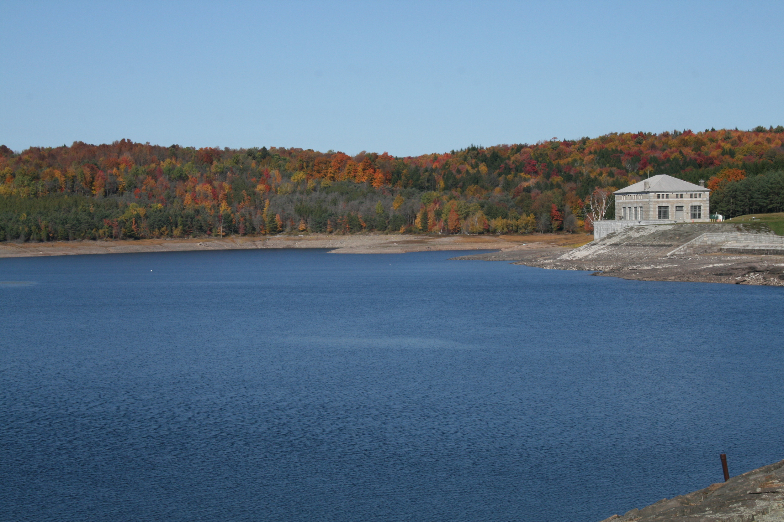 Neversink Reservoir, Neversink.