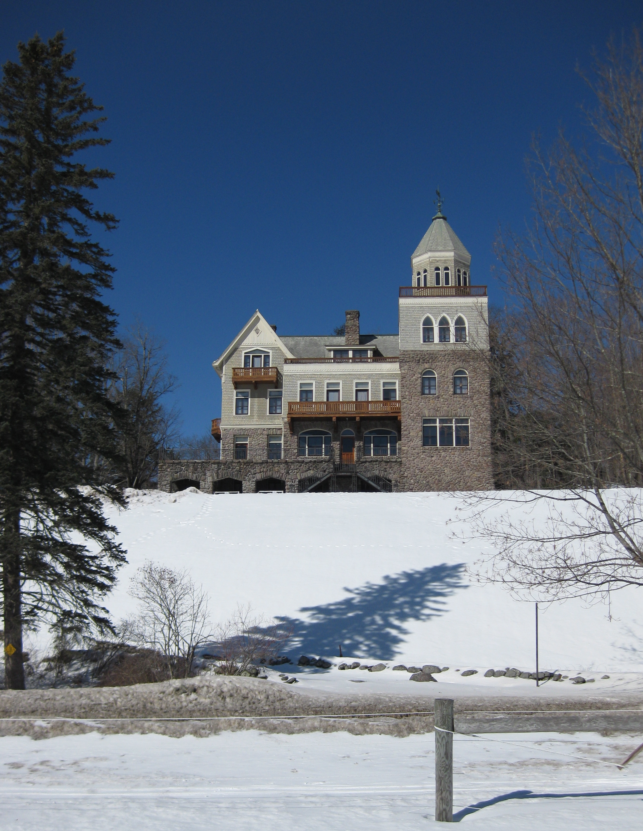 """""""The Castle"""" at Frost Valley YMCA"""