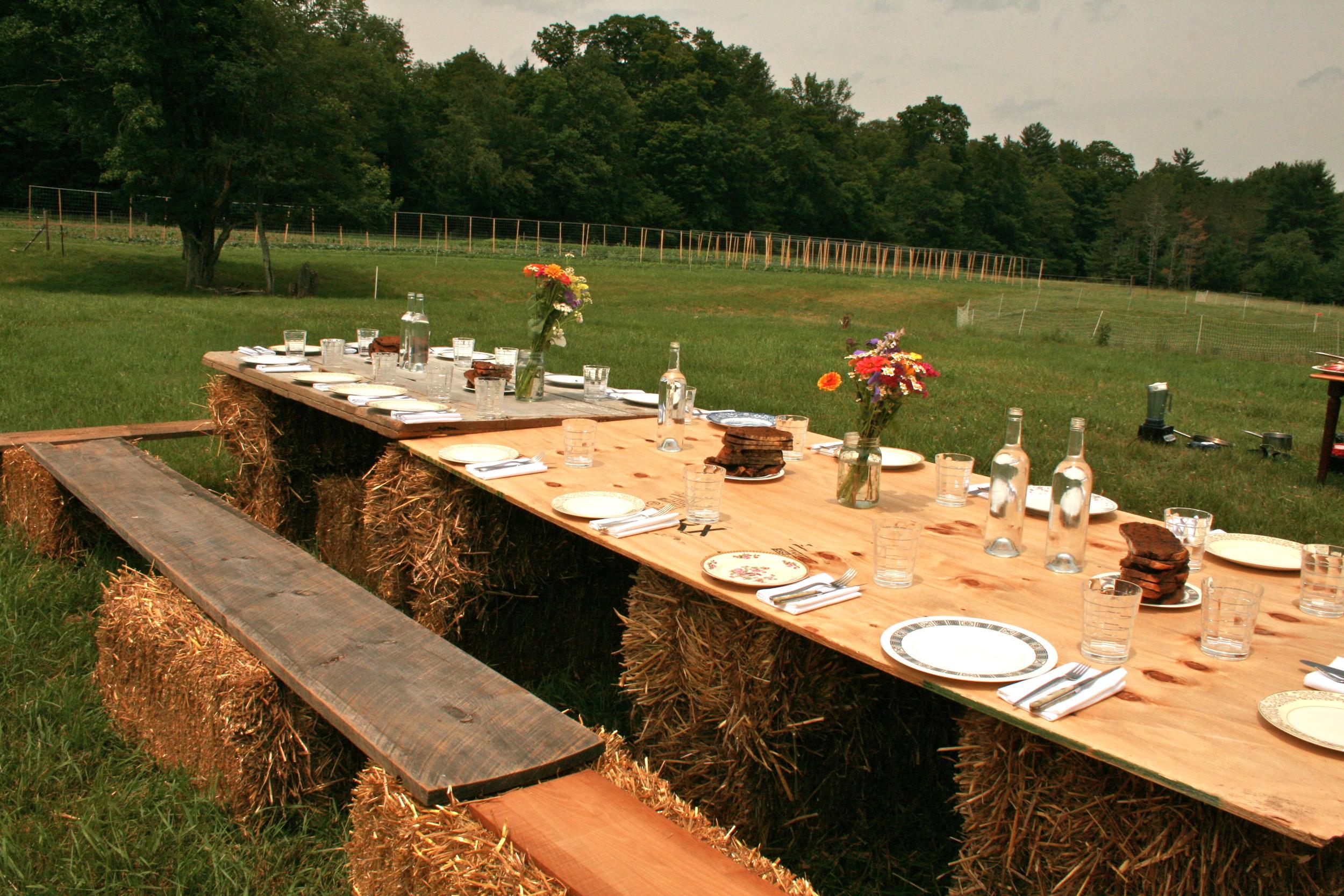 Farm to fork dinner, Neversink Farm