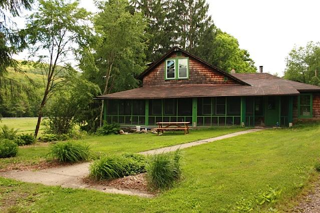 The 3 bedroom, 2 bath Farmhouse.