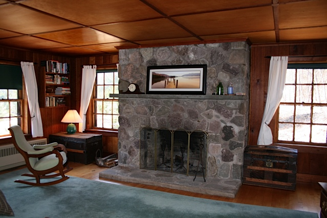 ...fireplace...