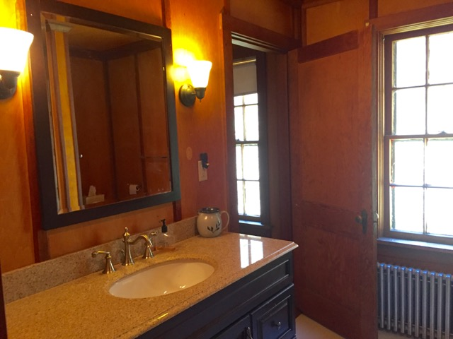 ...and master bath.