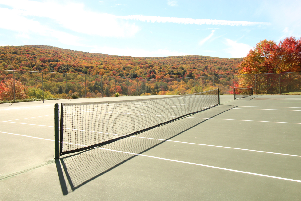 Beaverkill Falls Association tennis courts