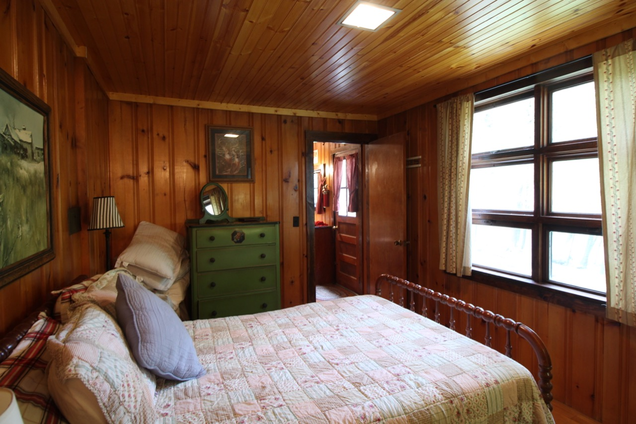 BEFORE: With a view of the Neversink possible from bed, I'm expanding in width and depth the bedroom windows.