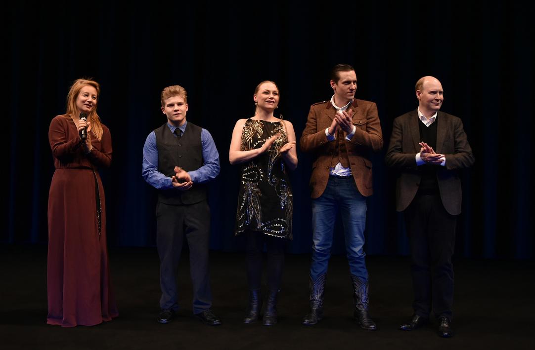 Beata Gårdeler,John Risto,Malin Levanon,Jakob Öhrman andHenrik Dorsin at Berlin Film Festival 2015.