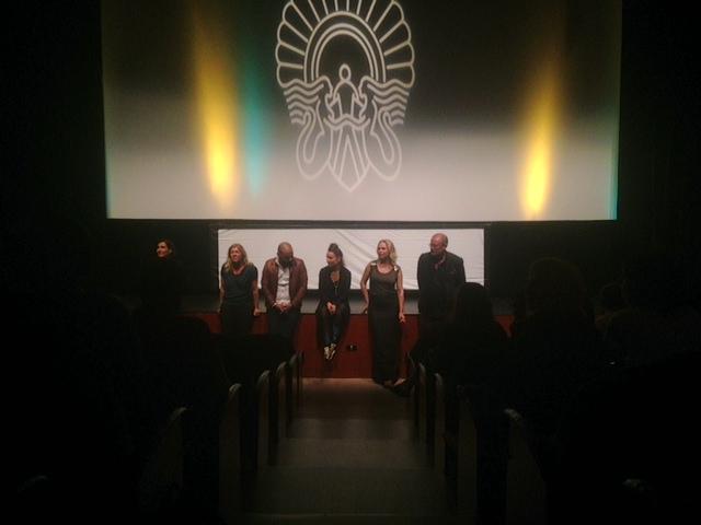 Frida Bargo, Peter Gronlund, Lo Kauppi, Malin Levanon & Mattias Nohrborg Q & A for Tjuvheder/ Drifters @San Sebastian Film Festival.