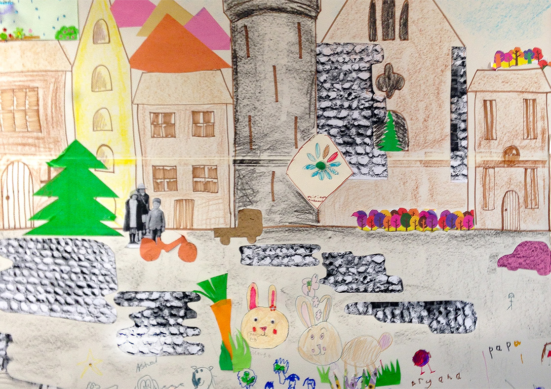 The Big Draw 2015, A Two Day Event in partnership with Arundel Museum.