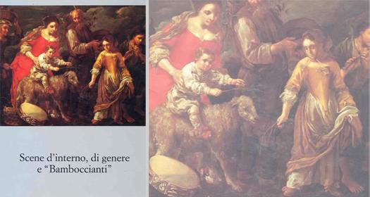 SCENE D'INTERNO, DI GENERE E 'BAMBOCCIANTI'      Cesare Lampronti ed.