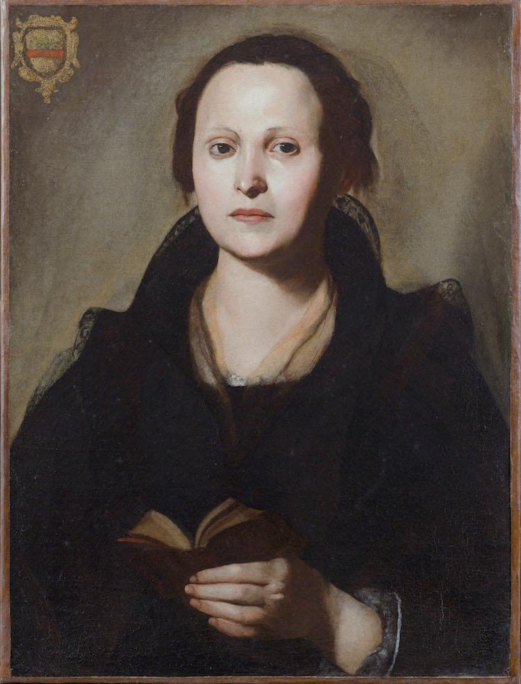 MASSIMO STANZIONE   PORTRAIT OF A LADY WITH A BREVIARY