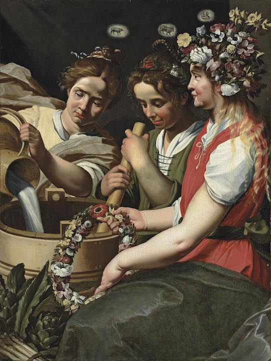 ABRAHAM JANSSENS   THE ALLEGORY OF SPRING