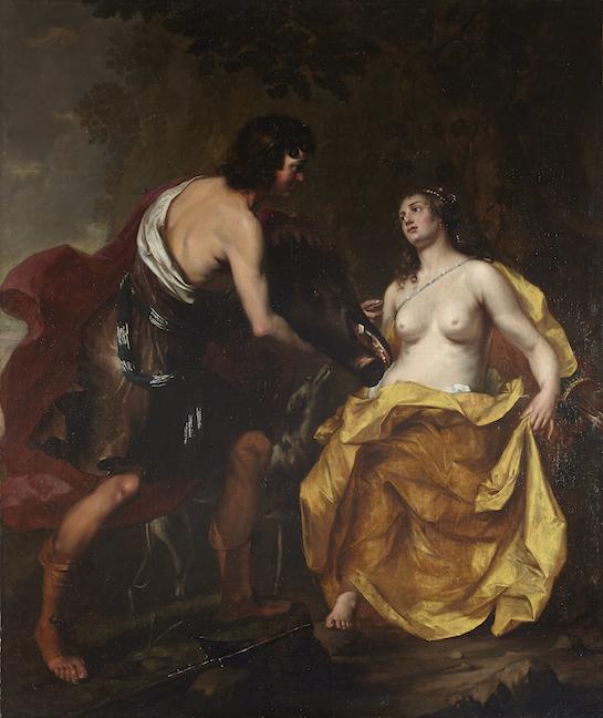 THOMAS WILLEBOIRTS BOSSCHAER   ATLANTA AND MELEAGER
