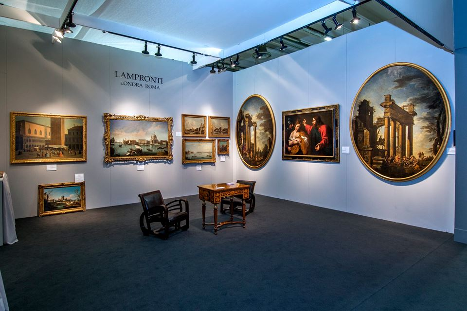 VIRTUAL TOUR STAND LAMPRONTI GALLERY - LONDOND