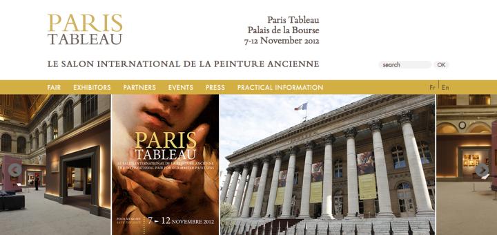 Paris Tableau    7 - 12 November 2012