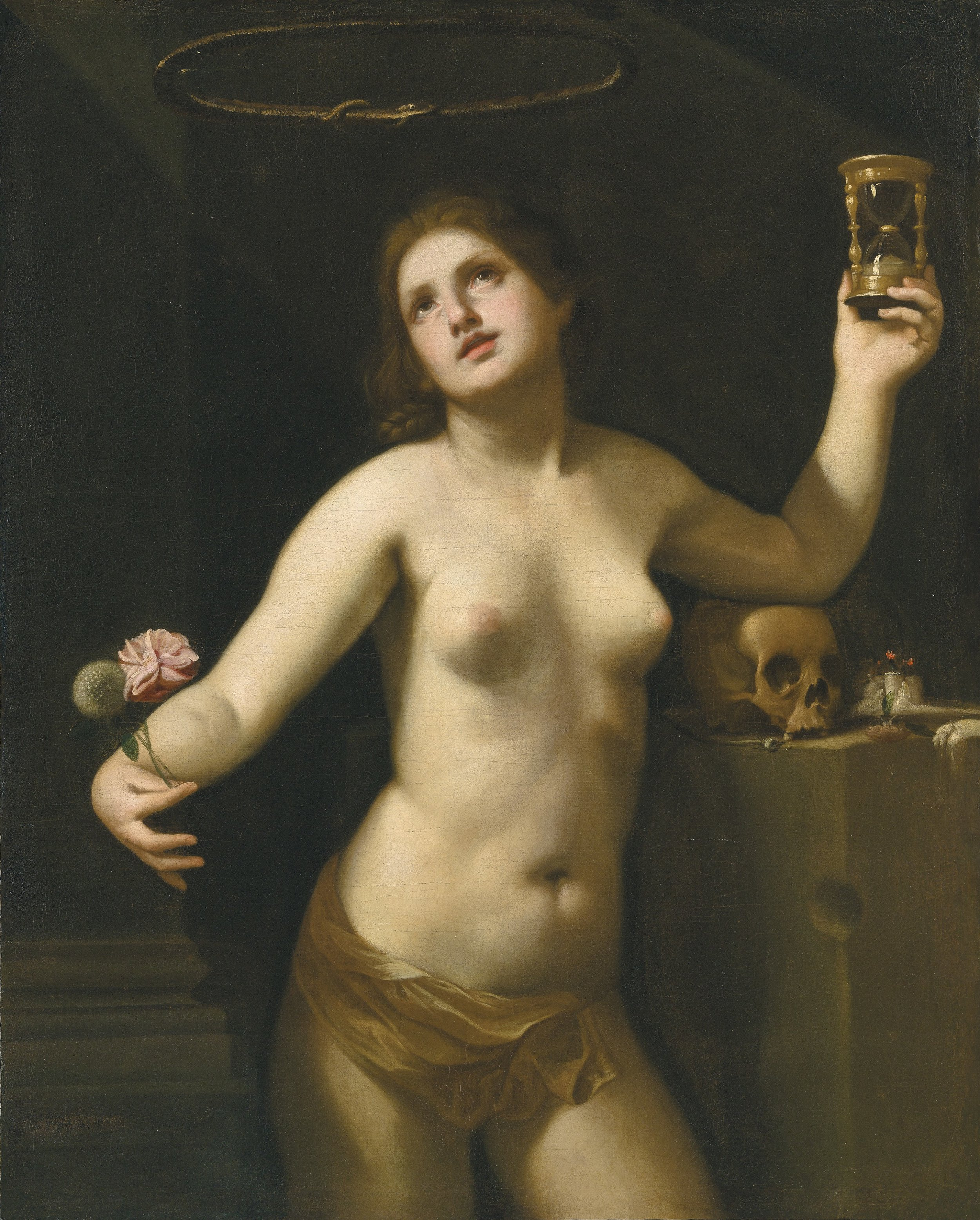 GUIDO CAGNACCI   ALLEGORY OF HUMAN LIFE