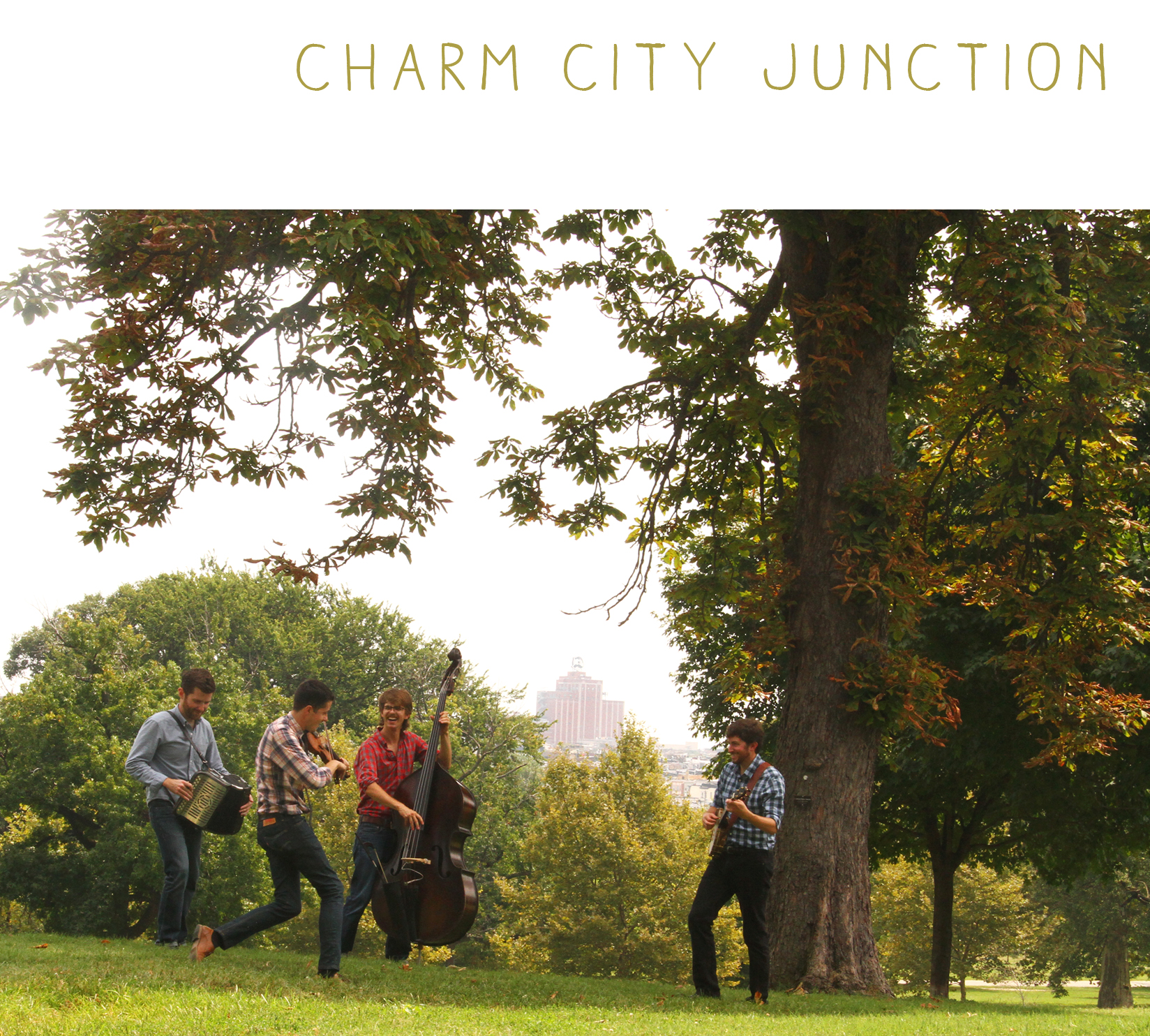 """""""Together they create an energetic amalgam that demonstrates their pure love of all these venerable musical idioms, but with a twist likely to satisfy anyone who appreciates traditional string music, expertly played... Charm City Junction  is a marvelous recording from an exciting new band. Don't let this one slip by you."""" – John Lawless,  Bluegrass Today"""