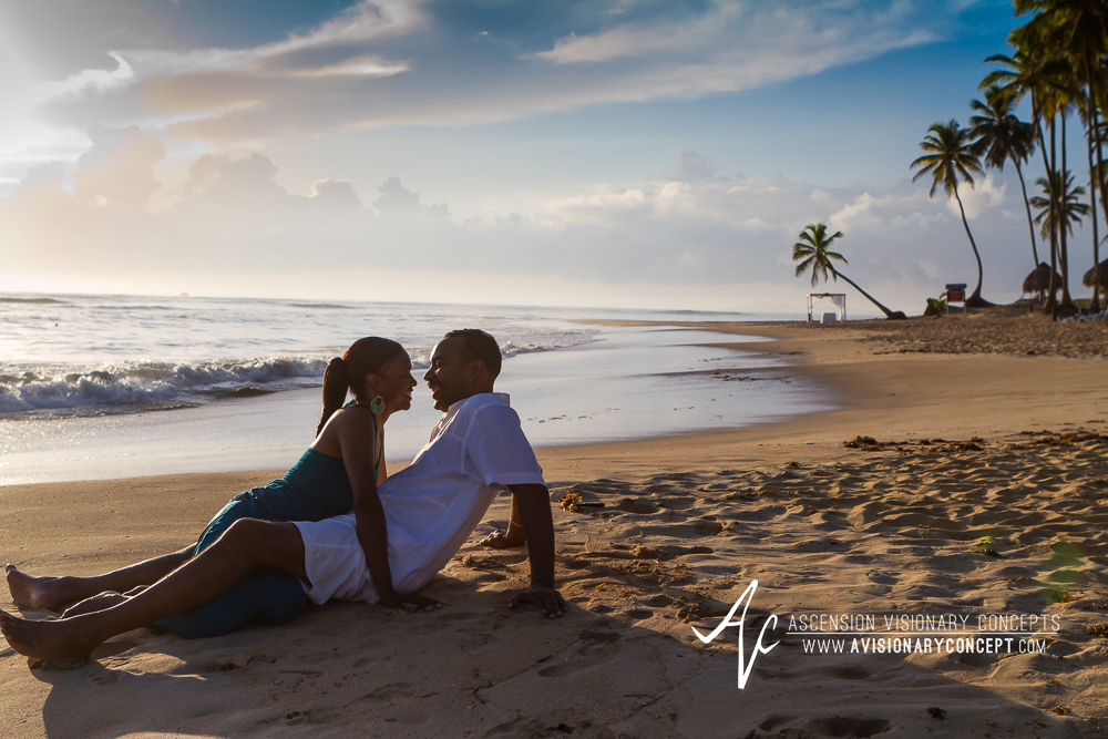 Destination Weddings: Punta Cana Personal Engagement Session