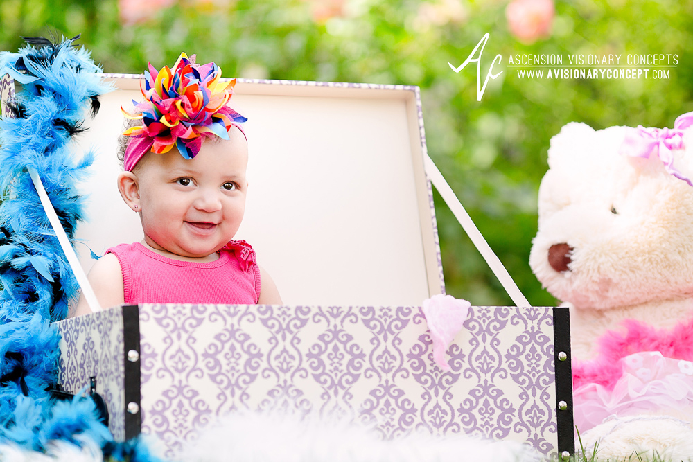 Buffalo Baby Photography: Outdoor Summer Baby Portraits