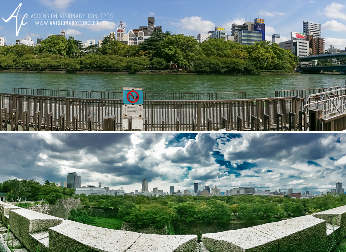 Osaka Skyline - Samsung Galaxy Note III