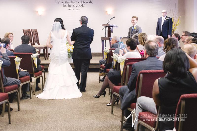 Buffalo Wedding Photography 04a Orchard Park Father Walks Bride Down Aisle.jpg