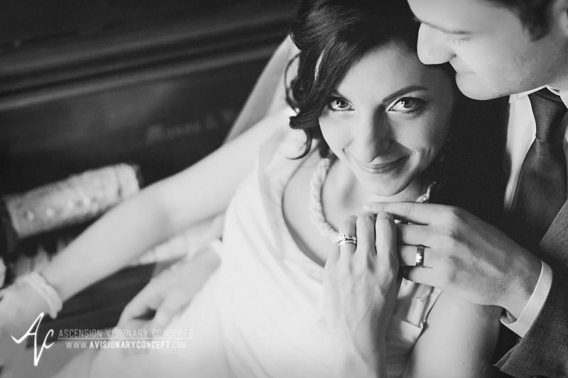 Buffalo Wedding Photography 13 Orchard Park Spring Wedding Beautiful Bride Groom B&W Piano.jpg