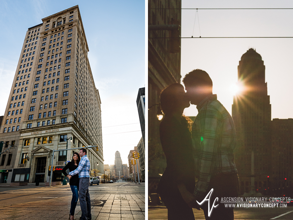 Buffalo Engagement Photography Urban City Anniversary Photography 011 Cityscape Architecture Downtown.jpg
