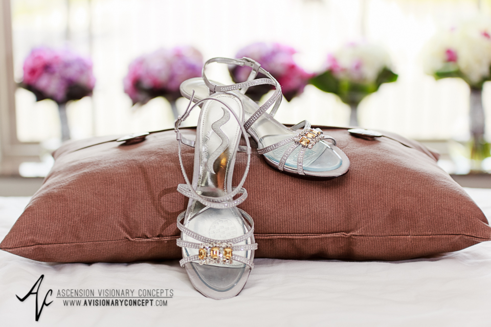 Rochester Wedding Photography 006 - East Avenue Inn & Suites Brides Shoes.jpg