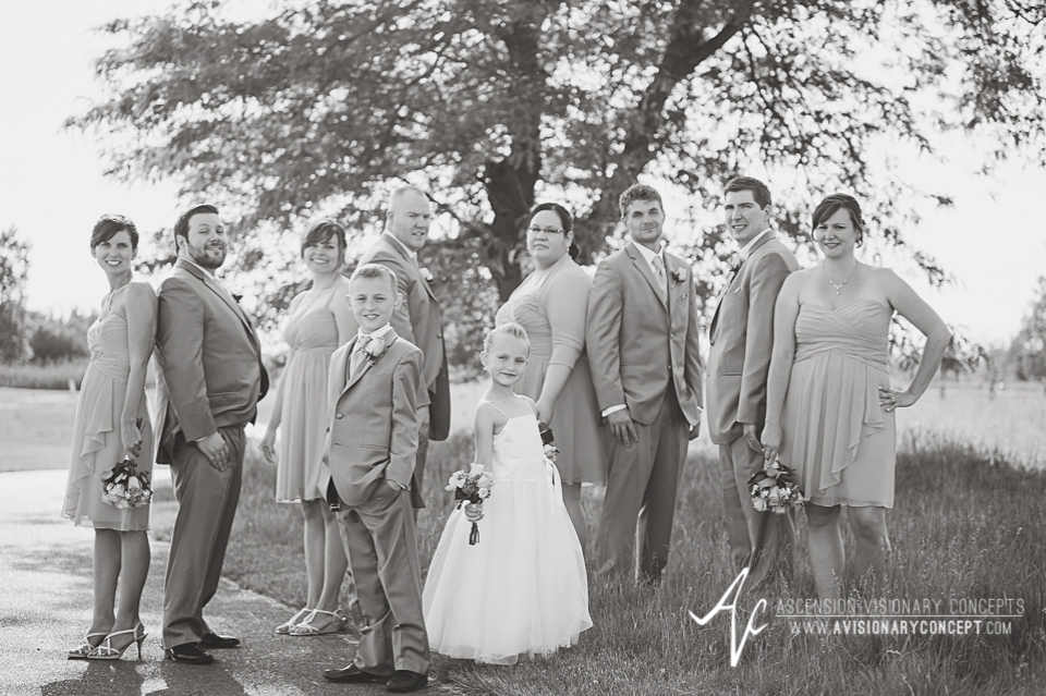 Buffalo Wedding Photography 17 Diamond Hawk Golf Course - Bride Groom Bridal Party Golf Course.jpg