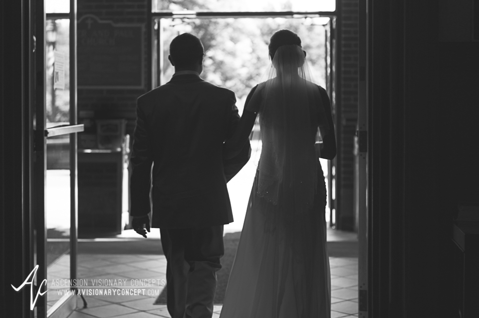Buffalo Wedding Photography 11 Diamond Hawk Wedding - Bride and Groom Exit Ceremony.jpg