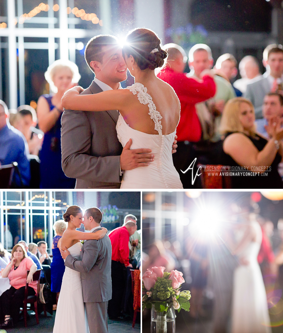Buffalo Wedding Photography 42 Diamond Hawk Golf Course - Bride Groom First Dance.jpg