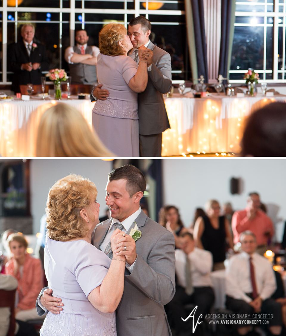 Buffalo Wedding Photography 46 Diamond Hawk Golf Course - Mother Son Dance.jpg