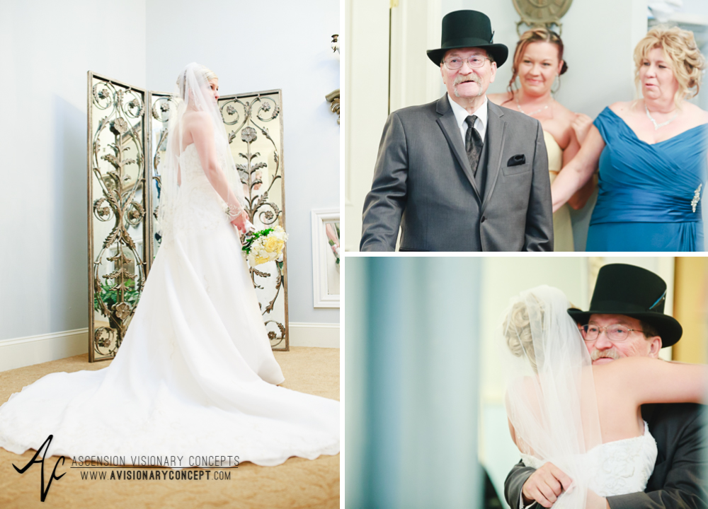 Buffalo Wedding Photography Avanti Mansion 21 Father of Bride First Look.jpg