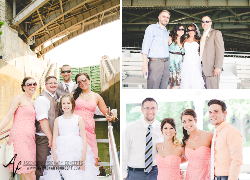 Buffalo Wedding Photography Lockport Locks Wedding 39 - Lockview V Boat Sunset Cruise.jpg