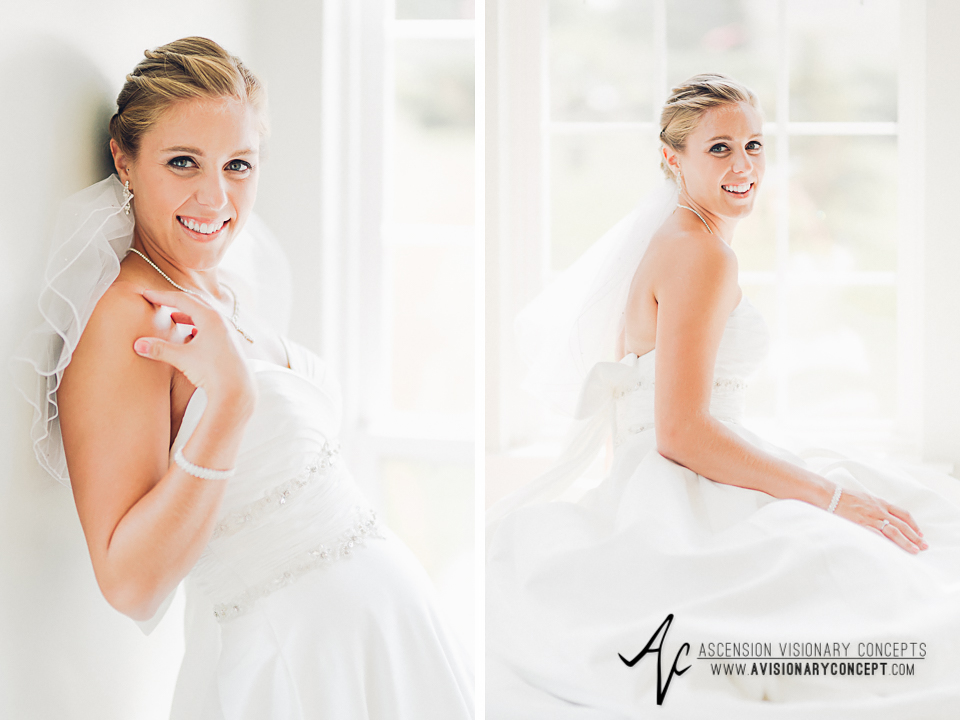 Buffalo Wedding Photography Orchard Park Country Club 016 - Beautiful Bride Portraits Alfred Angelo Dress.jpg