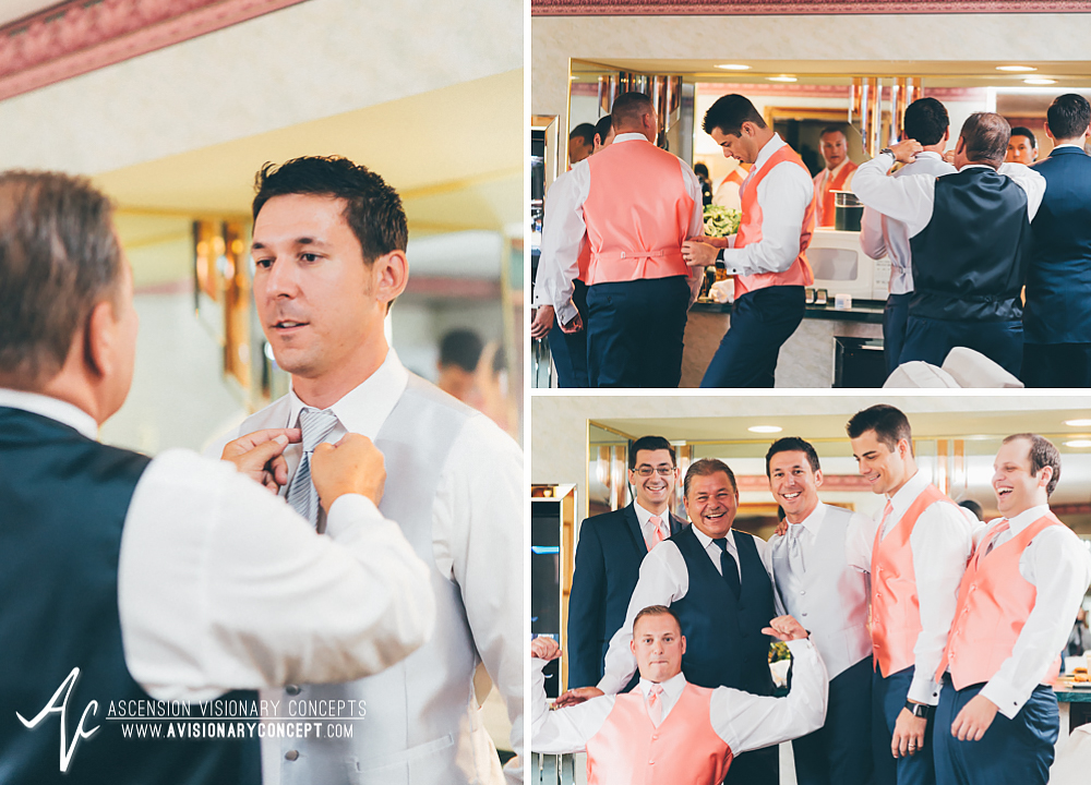 Buffalo Wedding Photography Orchard Park Country Club 001 - Salvatore's Garden Place Hotel Groom Groomsmen Getting Ready.jpg