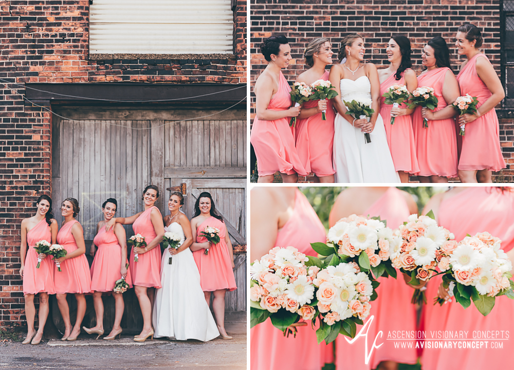 Buffalo Wedding Photography Orchard Park Country Club 036 - Urban City Downtown Bridal Party Buffalo Cobblestone District.jpg