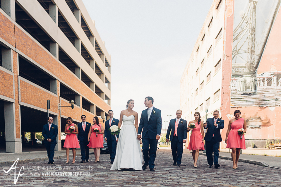 Buffalo Wedding Photography Orchard Park Country Club 037 - Urban City Downtown Bridal Party Buffalo Cobblestone District.jpg
