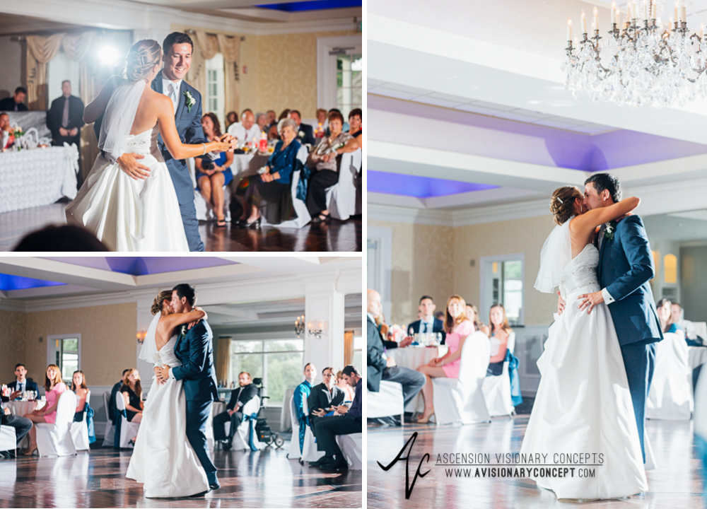 Buffalo Wedding Photography Orchard Park Country Club 058 - Reception Bride Groom First Dance.jpg
