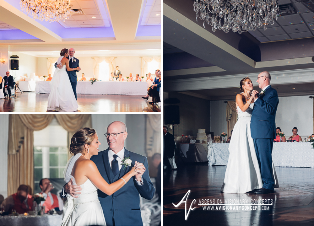 Buffalo Wedding Photography Orchard Park Country Club 060 - Reception Father Daughter Dance.jpg