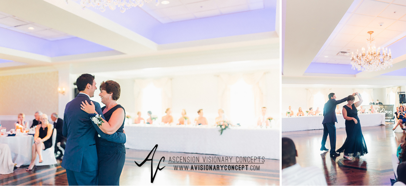 Buffalo Wedding Photography Orchard Park Country Club 061 - Reception Mother Son Dance.jpg