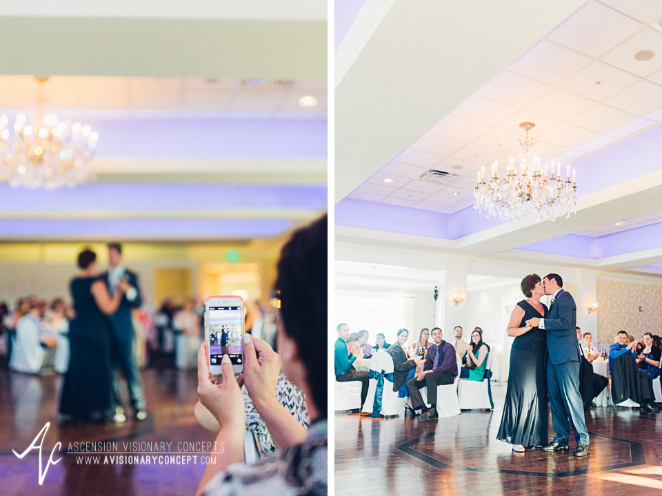 Buffalo Wedding Photography Orchard Park Country Club 062 - Reception Mother Son Dance.jpg