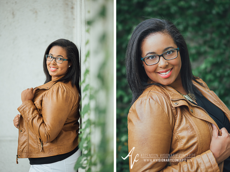 Buffalo Senior Photography 15 - Class of 2015 Summer Photography Downtown Buffalo African American Teenage Girl.jpg