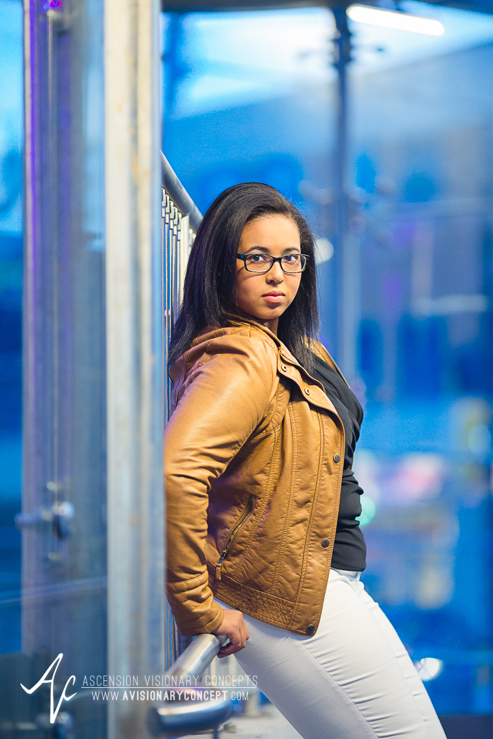 Buffalo Senior Photography 17 - Class of 2015 Summer Photography Downtown Buffalo African American Teenage Girl.jpg