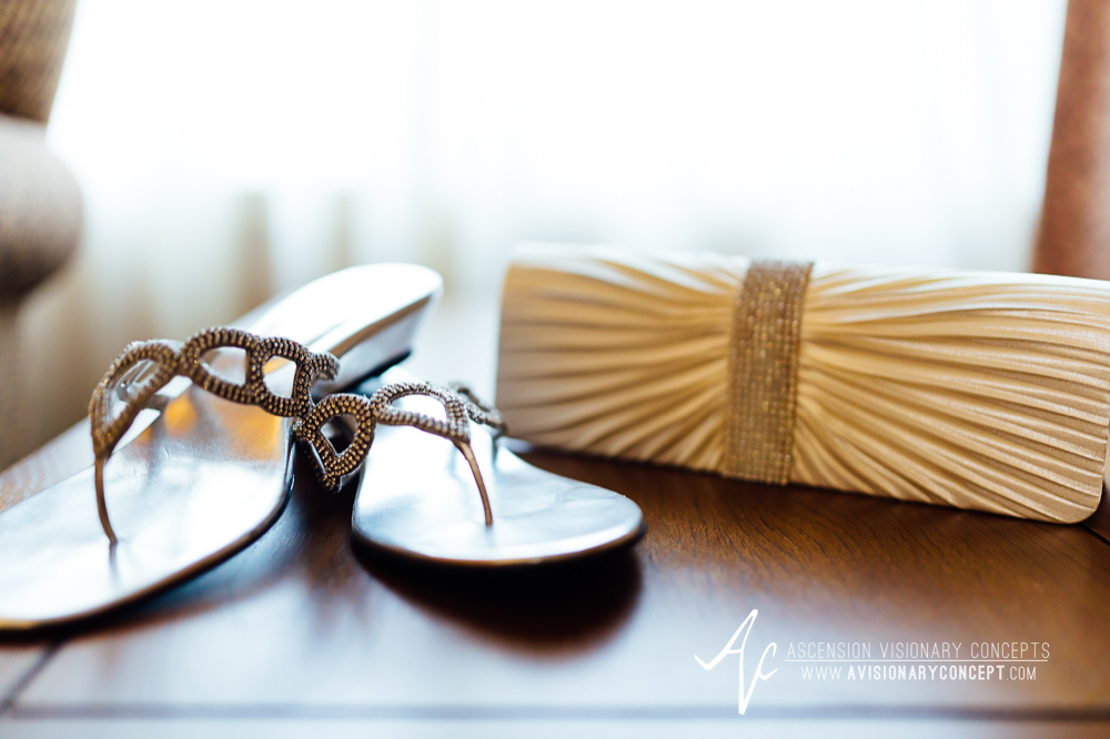 Buffalo Wedding Photography Spring Lake Winery 003 - Bride Sandals Bride Clutch.jpg