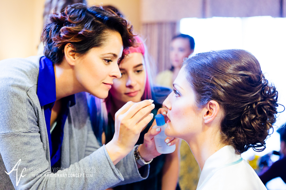 Buffalo Wedding Photography Spring Lake Winery 005 - Bride Getting Ready Makeup Artist.jpg