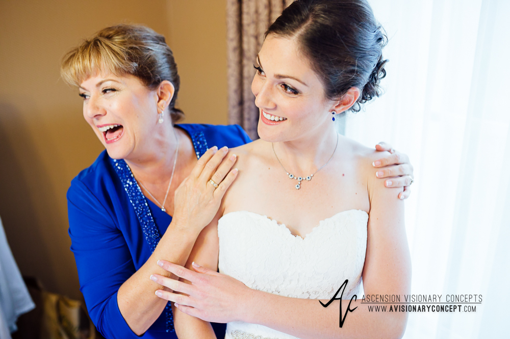 Buffalo Wedding Photography Spring Lake Winery 017 - Bride Getting Ready Mother of Bride.jpg