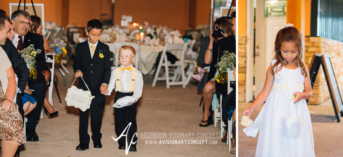 Buffalo Wedding Photography Spring Lake Winery 059 - Wedding Ceremony Ring Bearer Flower Girl.jpg